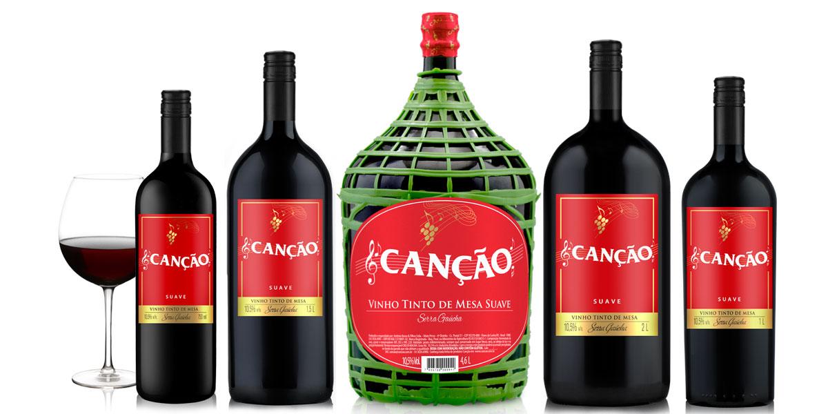 Tinto Suave Vinhos Can 231 227 O